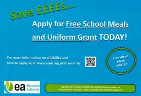 Free School Meals and Uniform Grants