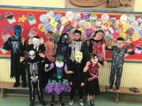 P4 - P5 Halloween Assembly