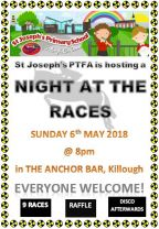 PTFA Night at the Races - Sunday 6th May.