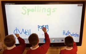 New SMART Boards for P4/5 and P6/7