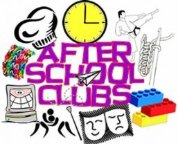 After School Clubs - Term 1.